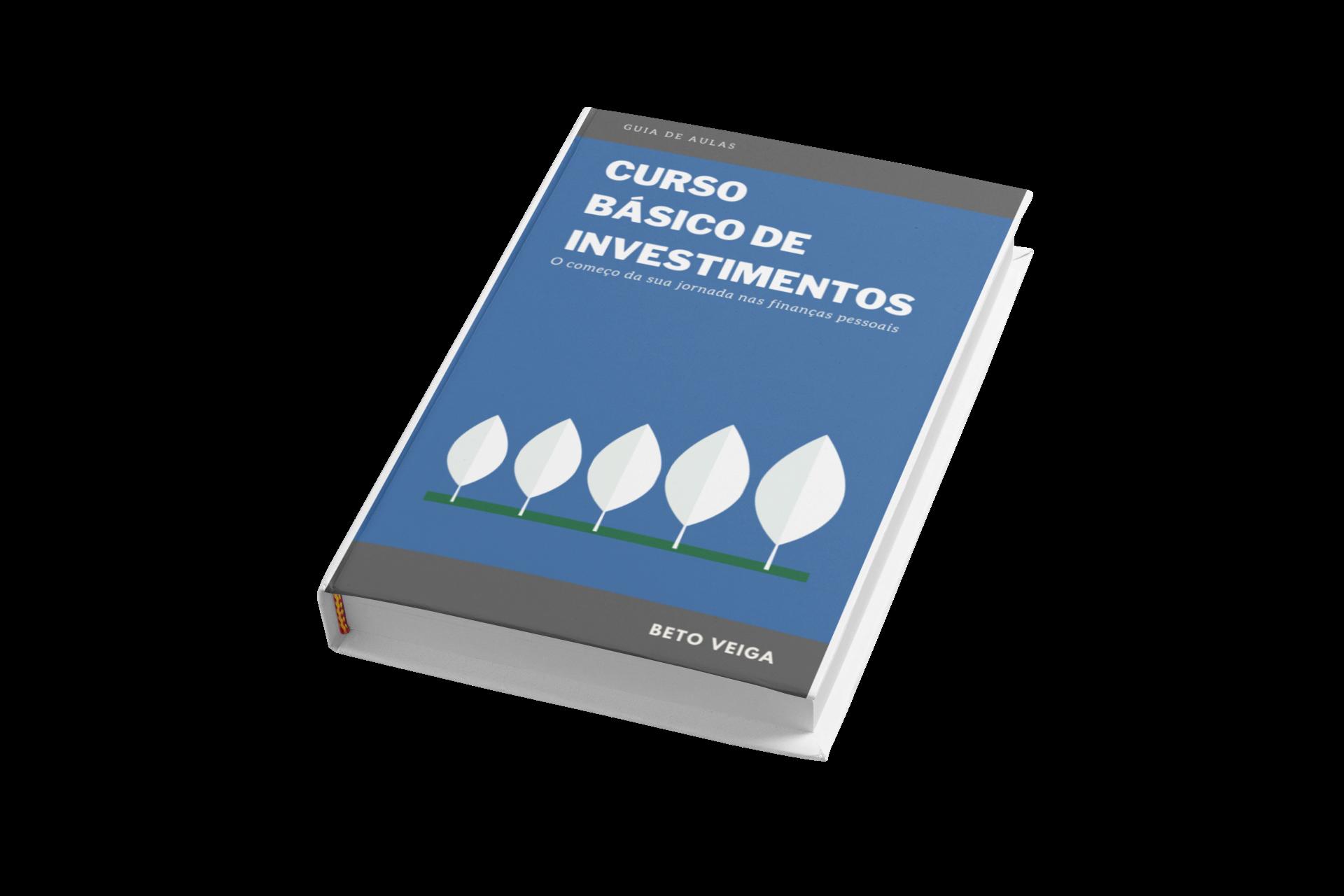 E-book Curso Básico de Investimentos + 4 aulas em vídeo + certificado
